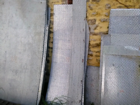 Steel sheet (perforated) - various sizes