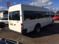 6 SPEED 14 SEATER MINIBUS WITH NEW MANUAL TACHO MOT READY FOR WORK