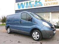 2011 Vauxhall VIVARO 2700 CDTI SWB 115ps Van *NO VAT* Manual Medium Van