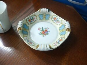 Antique Noritake Morimura Bowl with Scroll corners