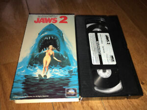 "Cult 1978 Horror VHS Movie ""JAWS 2"""