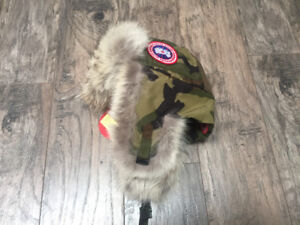 Canada Goose Men's Aviator Hat (original, never used, with tags)