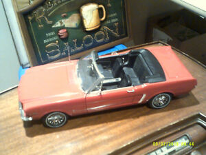DIECAST 1/12TH SCALE 64 1/2 MUSTANG CONVERTIBLE BY ERTL.