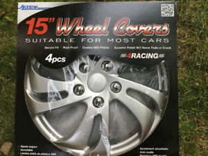 3 enjoliveurs de roue Alpena wheel covers caps mags neufs