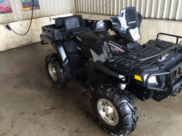 Used 2007 Polaris sportman X2 deluxe (thunder edition)