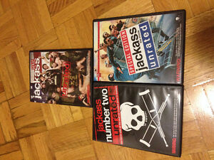 Jackass Unrated 3 pack Kitchener / Waterloo Kitchener Area image 3