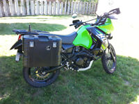 2013 KLR with all the upgrades