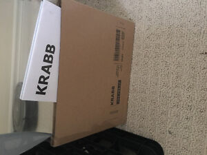 brand new IKEA krabb wavy mirror. London Ontario image 2