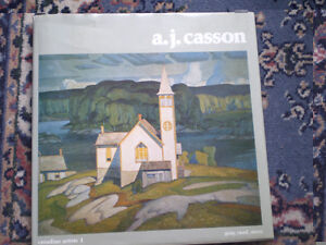 A.J. Casson - Canadian Artists 1 - 1976 Hardcover Book - Signed