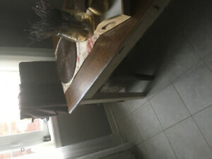 All Wood Kitchen Table