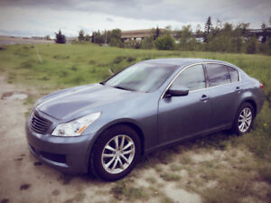 2009 Infiniti G37x AWD(Perfect for the winter)