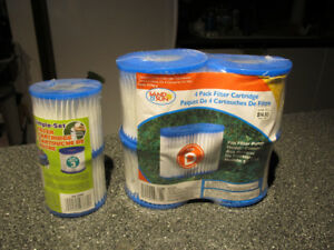Pool pumps filter cartridges. Sand- Sun size 3 and type D.