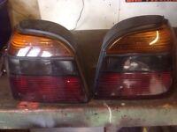 Volkswagen Golf mk3 vr6 rear light lenses