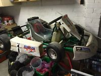 Go kart cadet suit 6/11 years old super reliable Honda gx160 engine