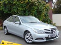 2014 14 MERCEDES-BENZ C CLASS 1.6 C180 EXECUTIVE SE PREMIUM PLUS 4D AUTO