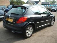 2008 Peugeot 207 1.6HDI 110 Sport 3d **NEW MOT**