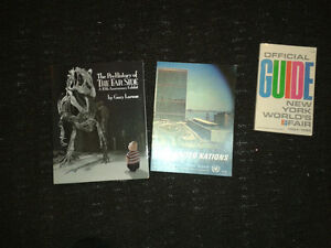 Various collectible books
