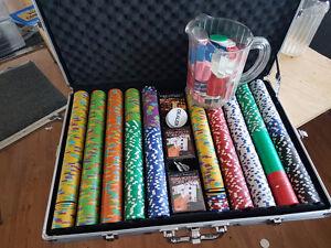 1000+ jetons de poker
