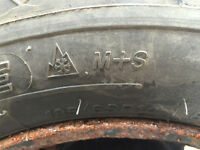 4 Tires with Rims (Honda Civic)