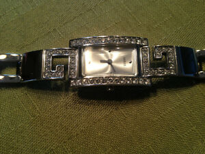 SILVER GUESS WATCH