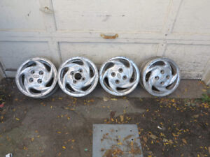 Aluminum Wheels 14 inches - from Hyundai Accent