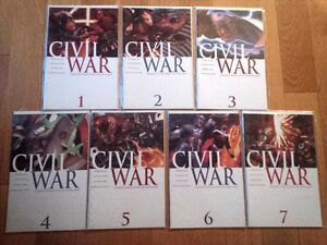 Marvel Civil War #1-7 + Front Line #1-11 + One Shots