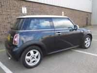 2007 (57) MINI COOPER BLACK 1.6 PETROL MANUAL