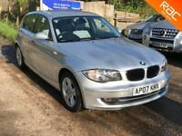 BMW 118 2.0TD auto 2007 d SE, 77.000 MILES FULL BMW SERVICES, F/LEATHER INTERIOR