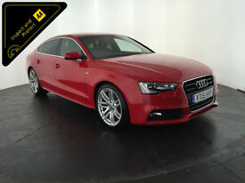 2015 AUDI A5 S LINE TDI DIESEL 5 DOOR HATCHBACK 1 OWNER FINANCE PX WELCOME
