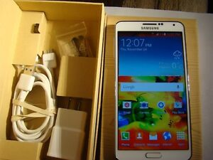SAMSUNG GALAXY NOTE 3 32GB WHITE FACTORY UNLOCKED NO CONTRACT BX