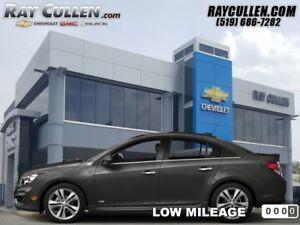 2016 Chevrolet Cruze Limited LT  -  Bluetooth -  A/C - Low Milea