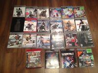 Playstation 3 avec 22 jeux et accessoires