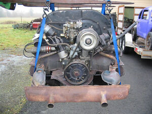 A Used 1600 VW Beetle Engine / Motor / Or Rusted Bug for parts