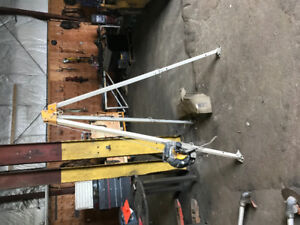 Misc Tools for sale, Right angle drill, Manhole hoist, saws