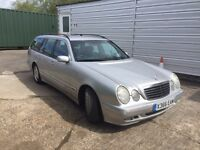 MERCEDES E200K ~ BREAKING FOR PARTS
