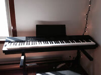 Electric piano Casio Privia PX-350 +stand +bench +pedals