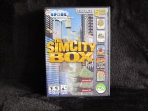 The SimCity Box Game for PC