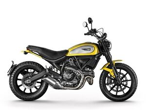 2014 Ducati Scrambler Icon '62 Yellow