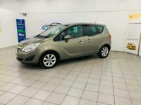 2010 Vauxhall Meriva 1.4 i 16v SE 5dr (a/c) MPV Petrol Manual