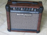 BEHRINGER ULTRACOUSTIC AT108 15 WATT AMP.