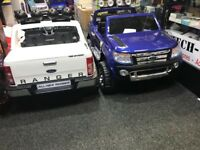 Ford Ranger In White Or Blue, Parental Remote & Self Drive Limited Stock