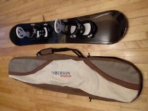 Planche à neige Snowboard Bottes 11 Fixations Burton