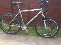 Mountain bike giant 18 speed 75£