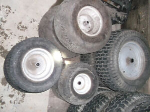 Tires for lawn Tractors