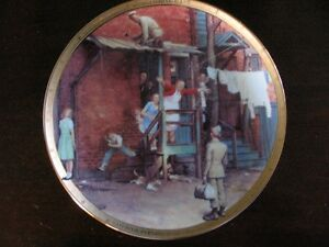 Norman Rockwell Collector Plates London Ontario image 8