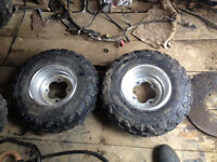 good tires and rims for honda sport bike.