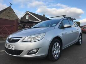 2011 61 VAUXHALL ASTRA 1.7 CDTI ECOFLEX 16V EXCLUSIVE 5DR