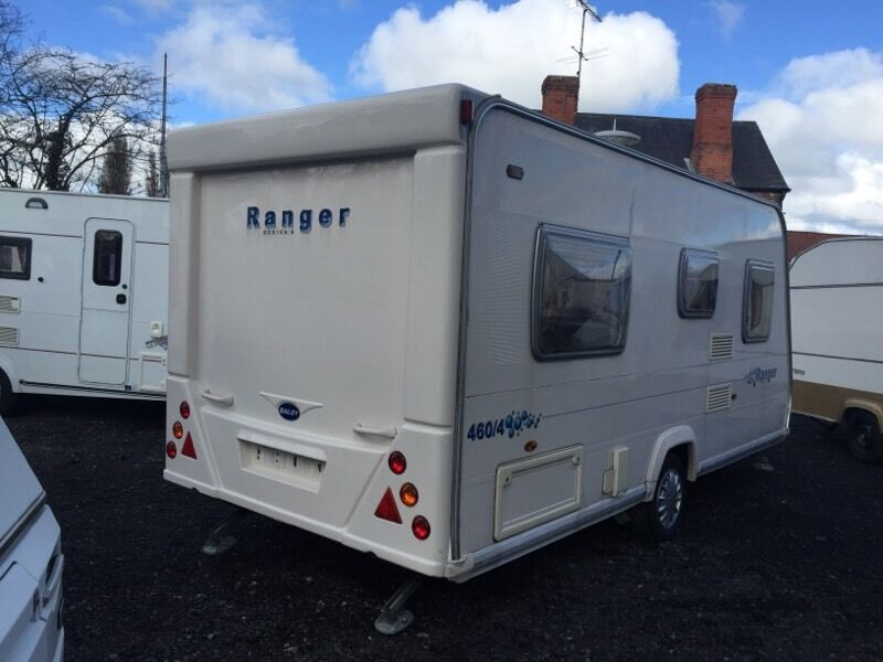 Bailey Ranger 460 4 2007 Fixed Bed Touring Caravan In