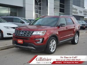 2016 Ford Explorer XLT 4WD w/Leather  Sunroof