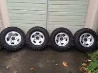 Kaiman Malatesta tyres 235/70R16 4x4 tyres on Suzuki vitara rims